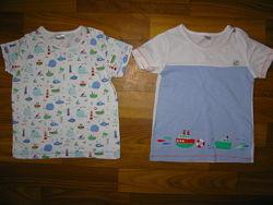 футболки мальчику на 9-36 мес