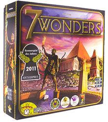 Настольная игра 7 Чудес. 7 Wonders