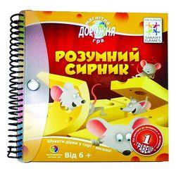 Игра - головоломка Розумний сирник. Сырные лазейки