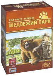Настольная игра Медвежий парк. Строим жильё для мишек