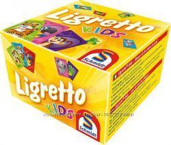 Настольная игра Ligretto Kids. Детский вариант игры Лигретто
