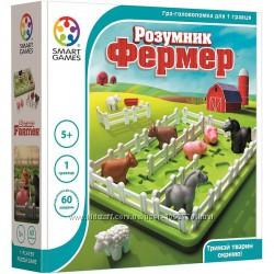 Настольная игра на логику Розумник фермер. Умный фермер. Smart Games
