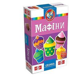 Настольная игра Мафіни. Кексы
