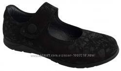 Туфли Perlina черные ажур принт р. 31, 32, 33, 34, 35, 36