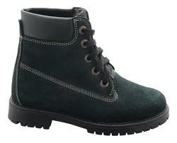 Демисезонные ботинки утеплитель натуральная шерсть 35р