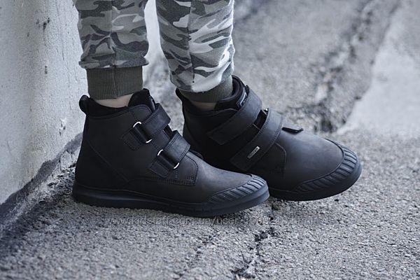 Ботинки Minimen натуральная кожа р.31, 32, 35,36 Черный