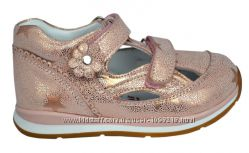 Кожаные ортопедические туфли турецкой обувной фабрики Perlina 26 - 30р