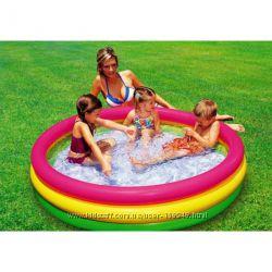 Детский надувной бассейн Intex 114х25 см