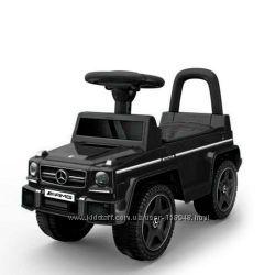 Толокар-каталка Mercedes Мерседес черный, хаки