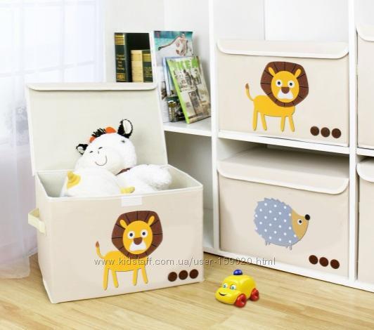Складные короба для детской комнаты