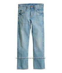 Фирменные джинсы светло-голубого цвета, 11-12, 14-16