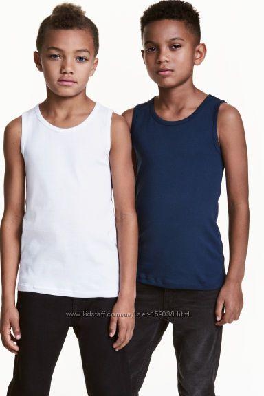 Майки и боксеры для подростков из органического хлопка, 8-15 лет