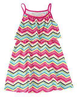 Летние фирменные платья девочкам, р-р 5-6, 7-8. В наличии