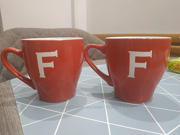 2 новые кофейные чашки Италия бесподобное качество