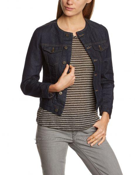 Джинсовые  курточки пиджаки Сross Jeans Без воротника. Качество. М, Л