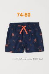 Плавки-шорты H&M 74-80 в наличии