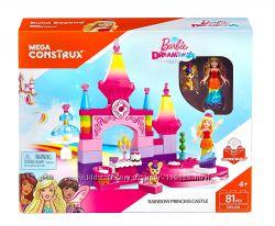 Конструктор Mega Construx Barbie Rainbow Princess Castle Building Kit