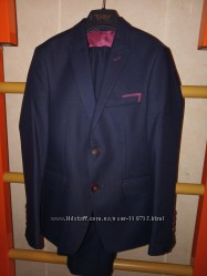 Очень крутой костюм современная классика  рост 130-146