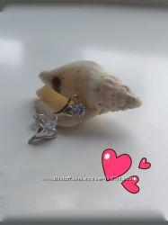 Серьги-гвоздики с замочками-винтиками, пусеты 925 пробы родирование