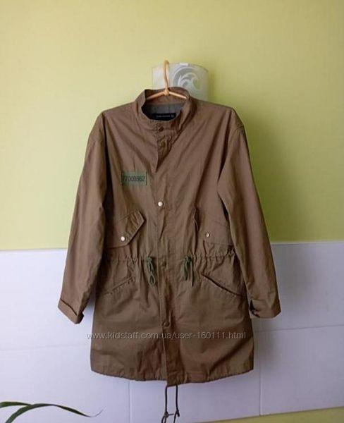 Куртка парка ветровка Zara