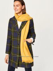 Стильное пальто Reserved в составе шерсть