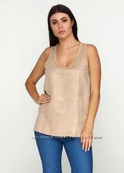 Замшевая блузка с трикотажной спинкой tcm tchibo