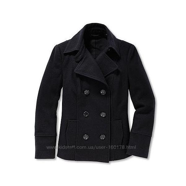 Шерстяное короткое пальто tcm tchibo