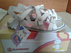 Кожаные сандалии Flamingo 34размер