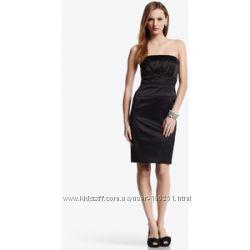 Нарядное атласное платье White House Black Market