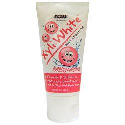 Зубная паста - гель детская, без фтора Now Foods Xyli-White Kids Toothpaste