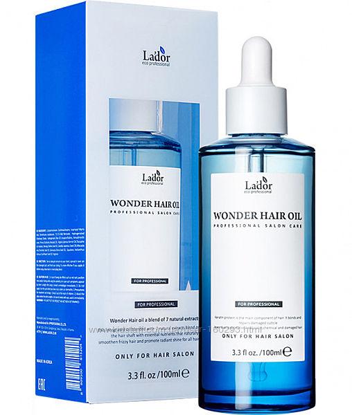 Увлажняющее масло для восстановления волос Lador Wonder Hair Oil