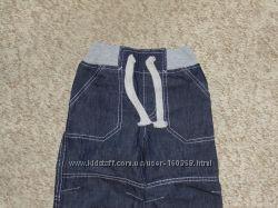 Джинсовые штанишки для мальчика р. 86-104см