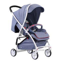 Детская прогулочная коляска Quatro Lion Jeans 11