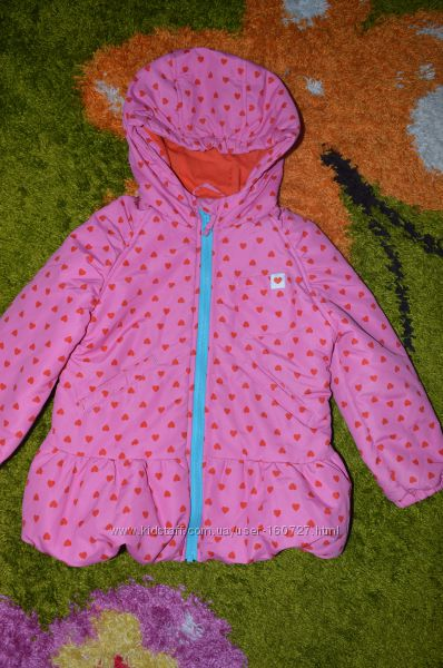 Отличная демисезонная куртка Ladybird для малышки из Англии