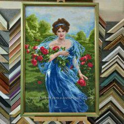 Рамка для вышивки, картин, фотографий Багет 18 Семь цветов