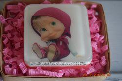 Мыло для детей ручной работы с картинкой