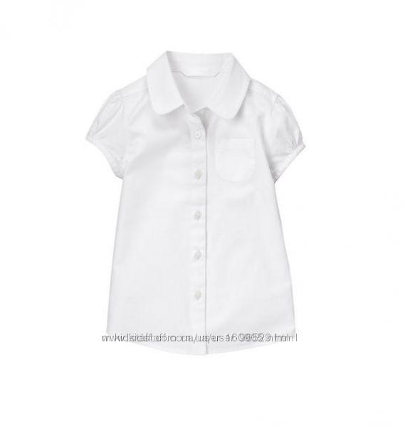 Блузка школьная Gymboree на 10 лет