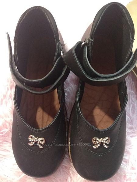 Туфли ортопедические кожаные 35 р-р стелька 22,5 см