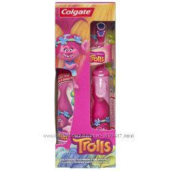 Набор Электрическая зубная щетка colgate minion и зубная паста colgate