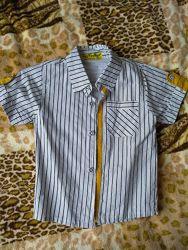Рубашка з жилеткою