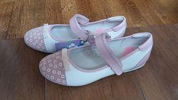 кожаные туфли ТМ Flamingo, р. 36, стелька 22, 5 см
