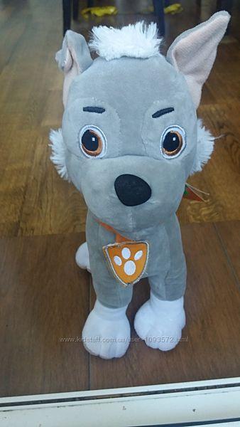 мягкая игрушка Рокки, щенячий патруль, 30 см