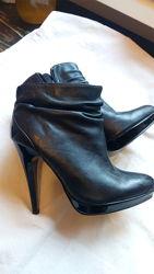 Ботинки кожаные, демисезонные, 35 размер, стелька 23, 3 см