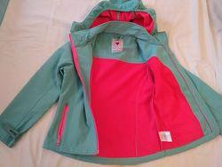 куртка -ветровка для девочки, на рост 140-146.