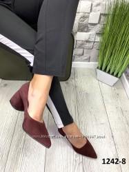 Кожаные туфли есть замш много цветов