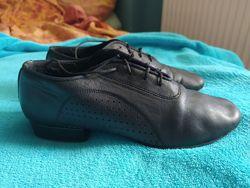 Бальные туфли для мальчика, натуральная кожа, 35-36р.