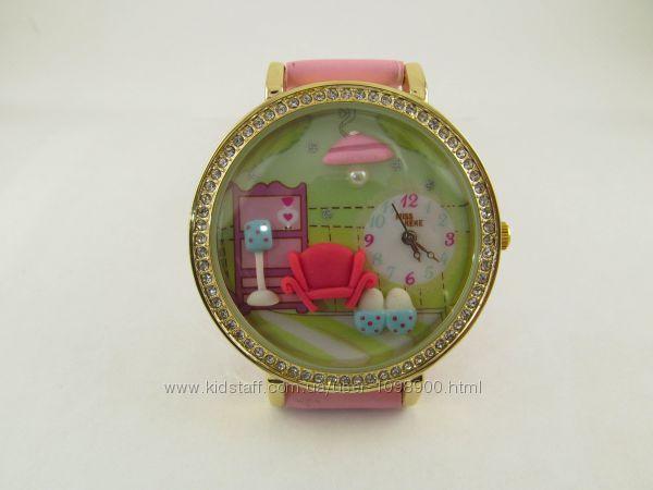 Часы для девочек Комфорт с объемным украшением