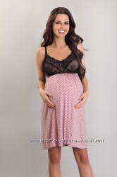Ночные рубашки для беременных и кормящих девушек