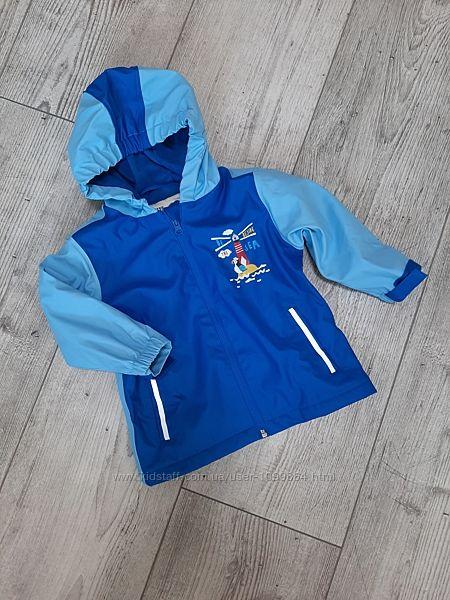 Дождевик куртка kuniboo германия от 86 до 128 см на флисе, грязепруф