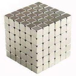 Тетракуб Никель 5 мм 216 блоков